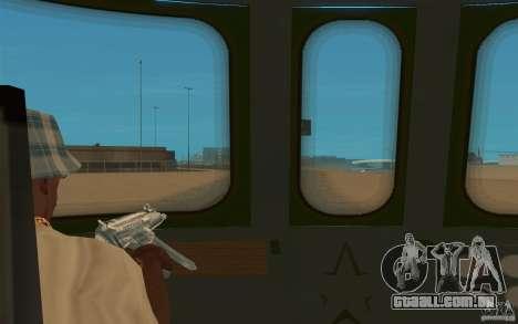 New Graffity Train para GTA San Andreas vista direita