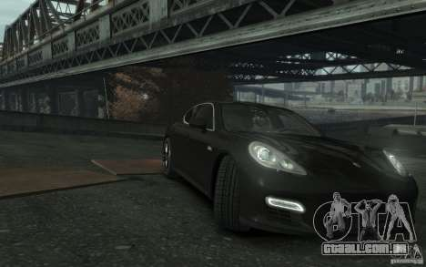 Porsche Panamera Turbo para GTA 4 vista interior