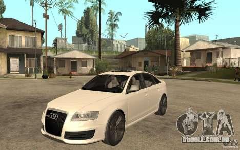 Audi RS6 2009 para GTA San Andreas
