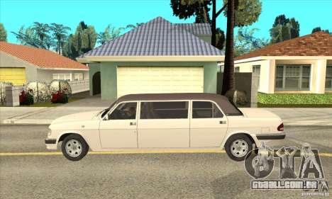 GAZ 3110 Sedan para GTA San Andreas esquerda vista