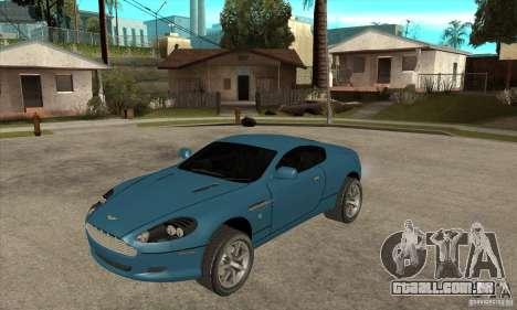 Aston Martin DB9 do NFS MW para GTA San Andreas