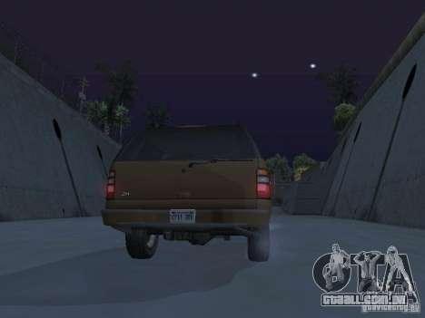 Chevrolet Suburban 2003 para o motor de GTA San Andreas