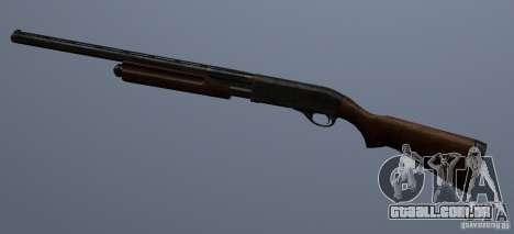 Remington 870AE para GTA San Andreas terceira tela