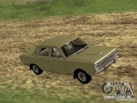 GAZ 24-01 para GTA San Andreas esquerda vista