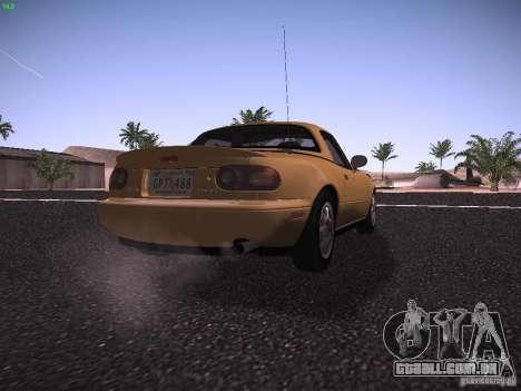 Mazda MX-5 1997 para GTA San Andreas vista direita