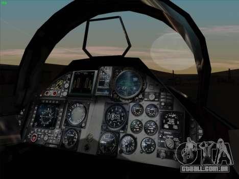 F-15C para vista lateral GTA San Andreas