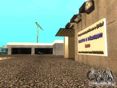 Concessionária BMW em San Fierro para GTA San Andreas por diante tela