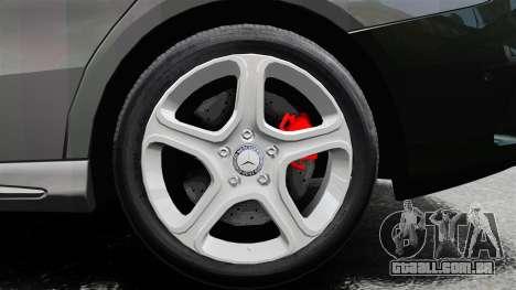 Mercedes-Benz CLA 250 2014 para GTA 4 vista interior