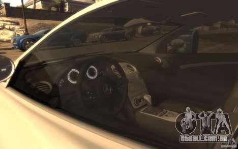 Mercedes-Benz SLR McLaren para GTA 4 traseira esquerda vista