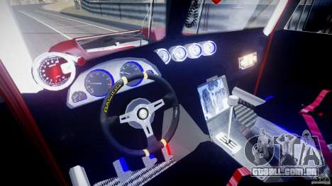 Peterbilt Sport Truck Custom para GTA 4 vista inferior