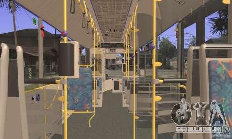 Design X3 GL para GTA San Andreas vista traseira