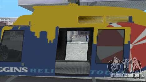 GTA IV News Maverick para GTA San Andreas vista direita