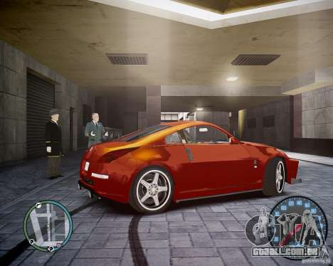 Nissan 350Z Z33 para GTA 4 vista direita