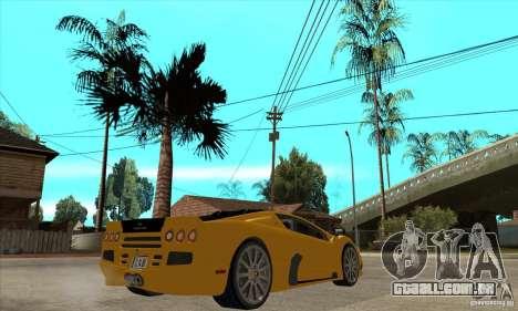 SSC Ultimate Aero FM3 version para GTA San Andreas vista direita