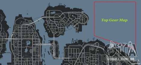 Top Gear Map para GTA 4 sétima tela