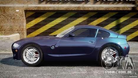 BMW Z4 V3.0 Tunable para GTA 4 esquerda vista