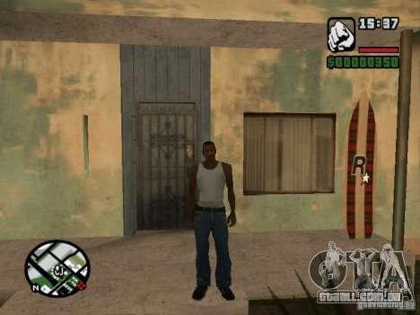 Cerf para GTA San Andreas quinto tela
