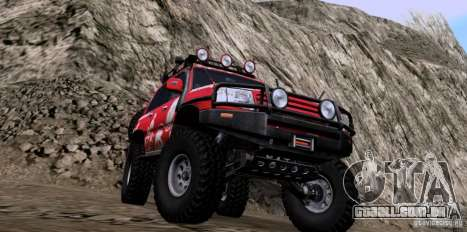 Toyota Land Cruiser 100 Off-Road para GTA San Andreas vista direita
