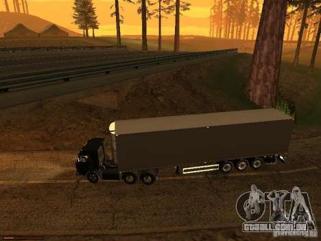 Reboque luzes v 3.0 para GTA San Andreas terceira tela