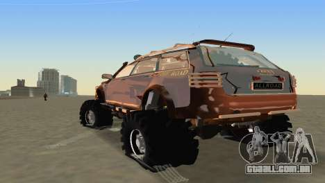 Audi Allroad Offroader para GTA Vice City vista direita