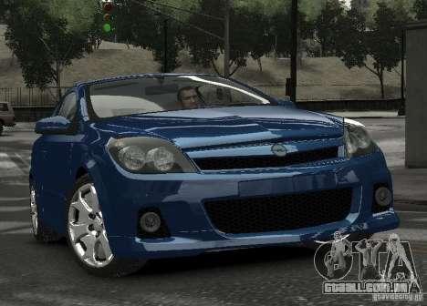 Opel Astra OPC para GTA 4 vista de volta