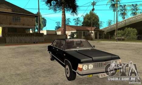 GAZ 14 Chaika para GTA San Andreas vista traseira