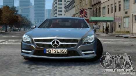 Mercedes-Benz SL 350 2013 v1.0 para GTA 4 esquerda vista