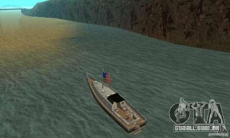 USA Marquis para GTA San Andreas traseira esquerda vista