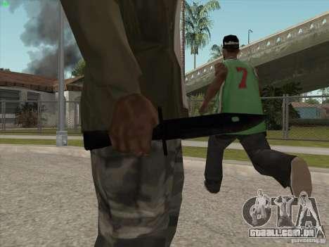 Faca para GTA San Andreas segunda tela