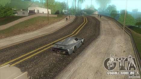 Estrada de qualidade no LS para GTA San Andreas quinto tela