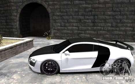 Audi R8 2008 Beta para GTA 4 esquerda vista