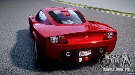 Farboud GTS 2007 para GTA 4 traseira esquerda vista