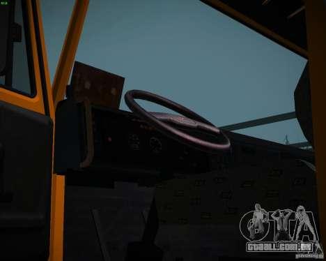 Caminhão KAMAZ 6520 para GTA San Andreas vista direita