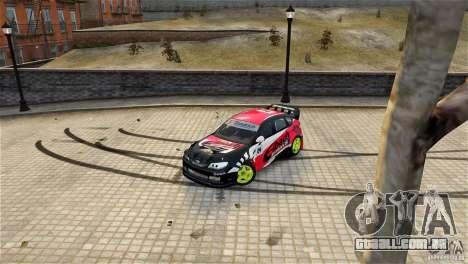 Subaru Impreza WRX STI Rallycross Eibach Springs para GTA 4