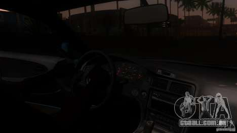 Toyota MR2 Drift para vista lateral GTA San Andreas