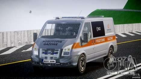 Ford Transit Usluga polski gazu [ELS] para GTA 4