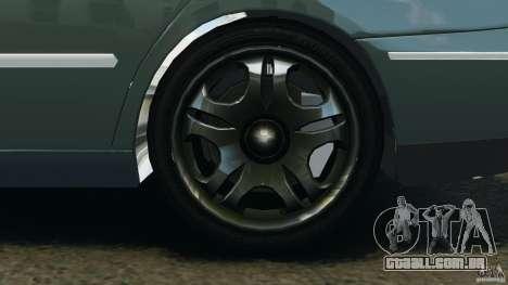 Hyundai Azera para GTA 4 vista de volta