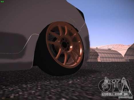 Vauxhall Astra VXR Tuned para GTA San Andreas vista direita