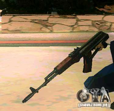 Weapon Pack v 5.0 para GTA San Andreas por diante tela