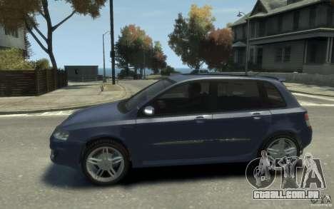 Fiat Stilo Sporting 2009 para GTA 4 esquerda vista