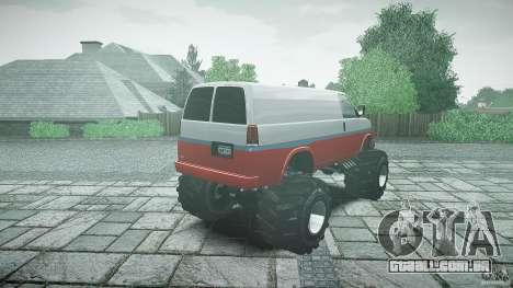 MEGA Speedo v0.9 para GTA 4 vista lateral