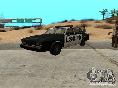Tahoma Police para GTA San Andreas