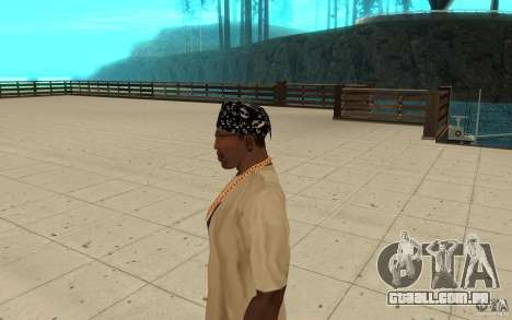 Habilidades de bandana para GTA San Andreas segunda tela