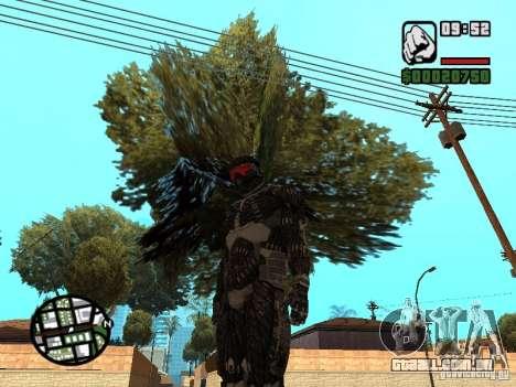 Crysis Nano Suit para GTA San Andreas segunda tela