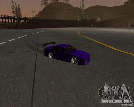 Nissan Silvia S13 Nismo tuned para GTA San Andreas vista interior