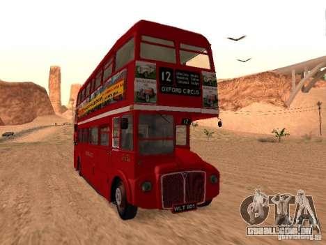 AEC RouteMaster RML para GTA San Andreas