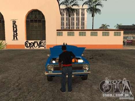 Abra o porta-malas e capô manualmente para GTA San Andreas terceira tela
