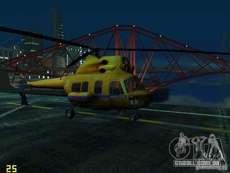 Polícia mi-2 para GTA San Andreas