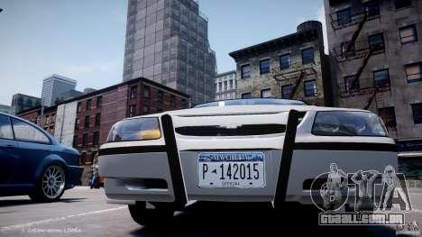 Chevrolet Impala Unmarked Police 2003 v1.0 [ELS] para GTA 4 vista inferior