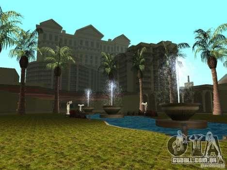 Novas texturas para o casino Caligula para GTA San Andreas